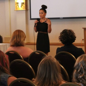 Break the Silence Against Domestic Violence Visits Cortland