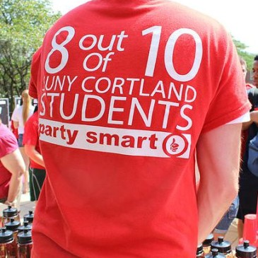 SUNY Cortland Students Reminded to Party Smart