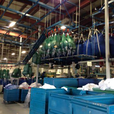Ames Linen Service Employees Shine