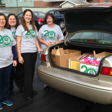 FCS Staff Support 20th Annual Day of Caring