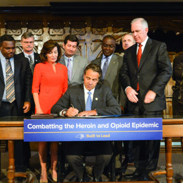 Governor Cuomo Signs Legislation to Combat the Heroin and Opioid Crisis