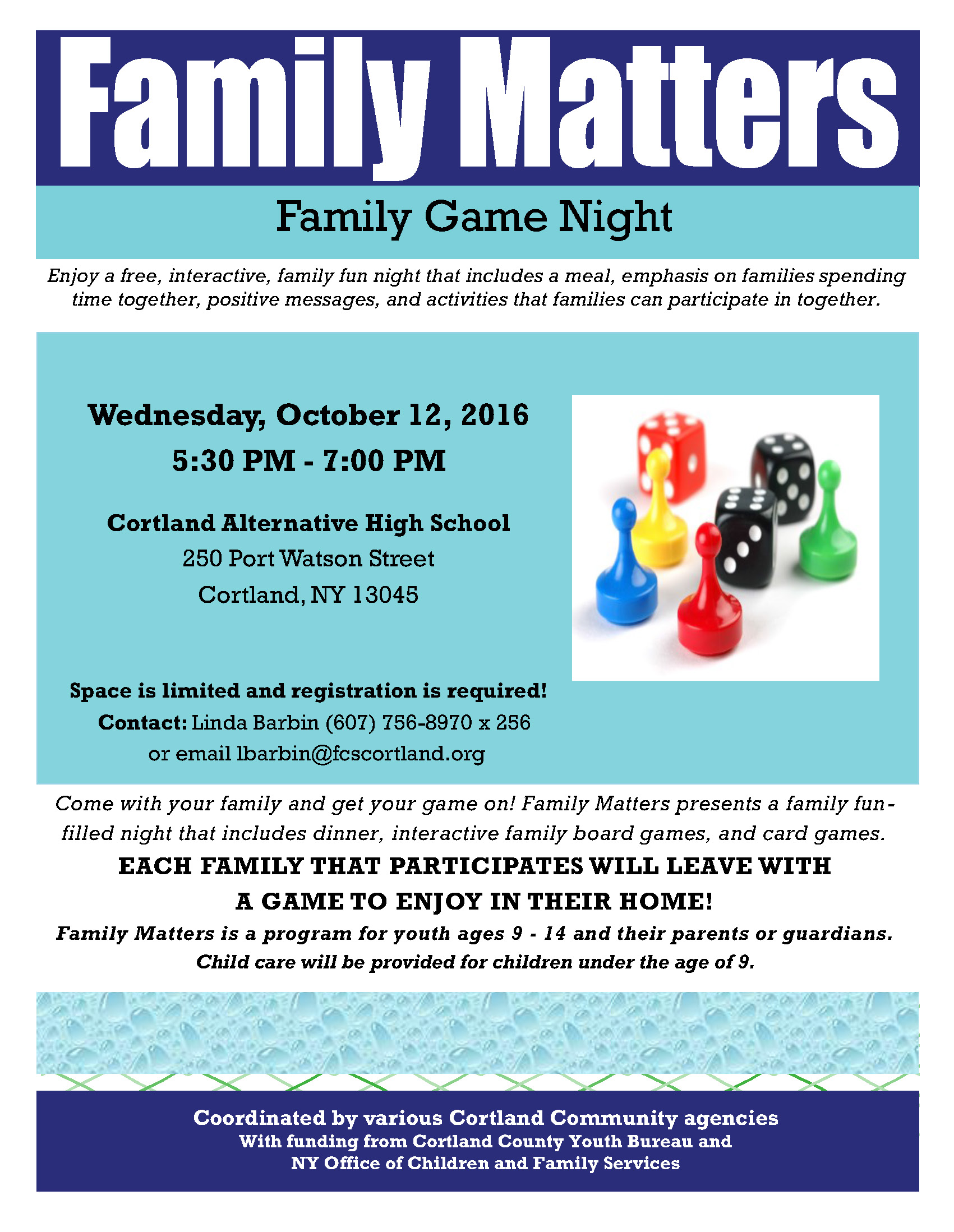 family game night coming october 12