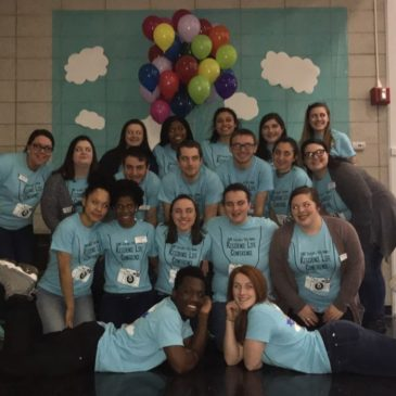 SUNY Cortland Residence Life Students Give Back to the Community