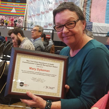 Mary Dykeman Receives NYS DOH Commissioner's Special Recognition Award
